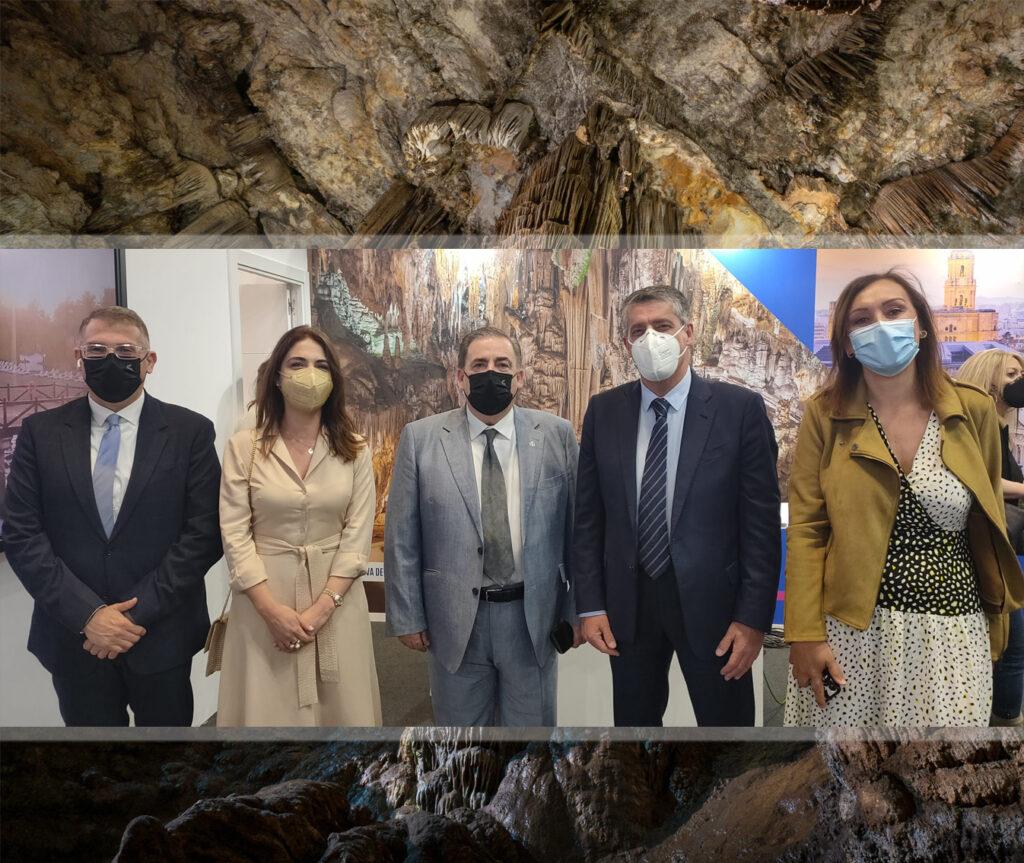 Cueva de Nerja en Fitur 2021